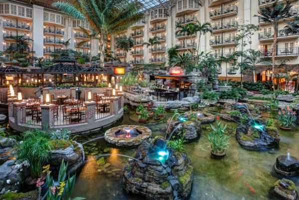 Gaylord Opryland Resort Nashville Tennessee From Frontier America